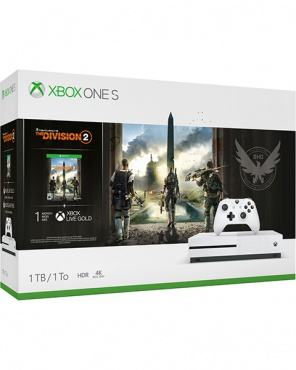 "XBOX One S 1TB White с игрой ""Tom Clancy's The Division 2"""