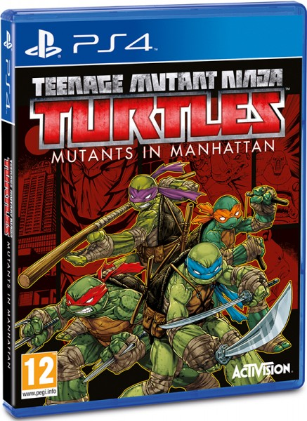 PS4 Teenage Mutant Ninja Turtles. Mutants in Manhattan
