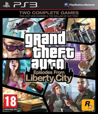 PS3 GTA Episodes from Liberty City
