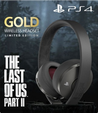 PS4 Гарнитура Wireless Stereo Headset Gold 7.1 The Last Of Us Part II: Limited Edition