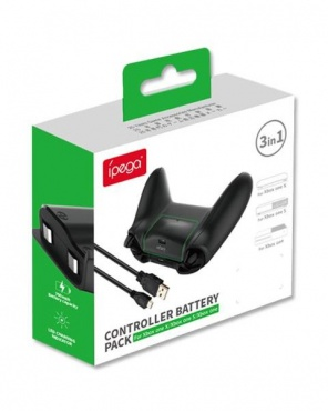 X-Box One Battery Pack 1400 mAh iPega PG-XB001 (аккумулятор + кабель)