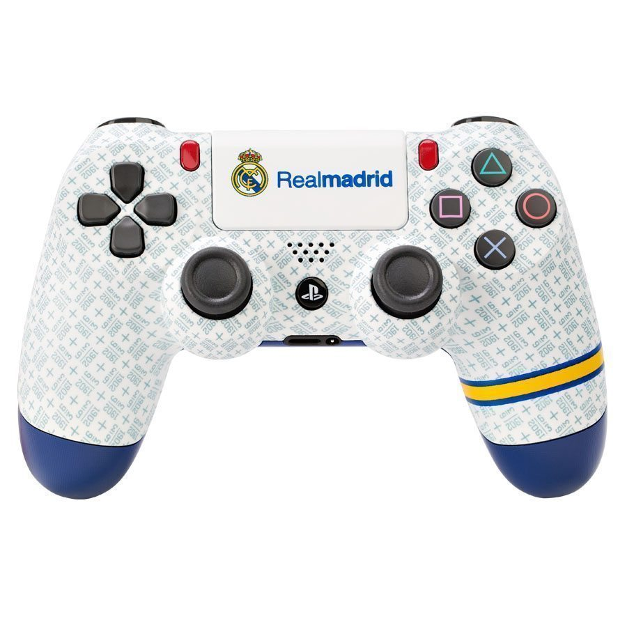 PS4 Dualshock 4 Wireless Controller Real Madrid Santiago Bernabéu