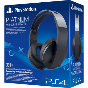 PS4 Гарнитура Wireless Stereo Headset Platinum 7.1 (черные)