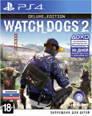 PS4 Watch Dogs 2. Deluxe Edition