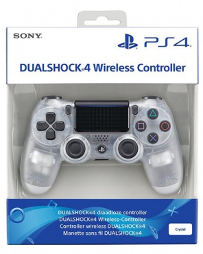 PS4 Dualshock 4 Wireless Controller V2 Crystal