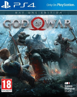 PS4 God of War. Day One Edition