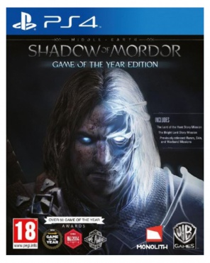 PS4 Средиземье: Тени Мордора Game of the Year Edition