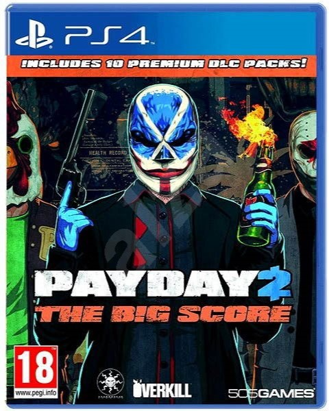 PS4 Payday 2. The Big Score
