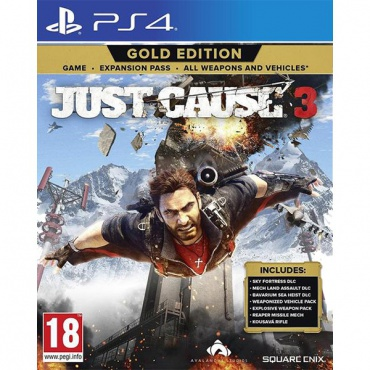 PS4 Just Cause 3. Gold Edition
