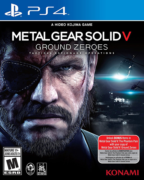 PS4 Metal Gear Solid V. Ground Zeroes