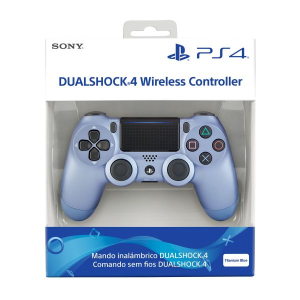 PS4 Dualshock 4 Wireless Controller V2 Titanium Blue