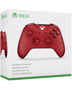 XBOX ONE S Controller беспроводной Red WL3-00027