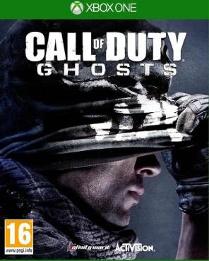 XBOX One Call of Duty. Ghosts