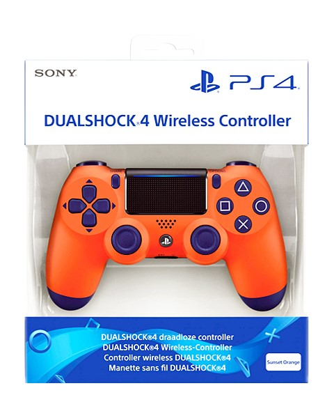 PS4 Dualshock 4 Wireless Controller V2 Sunset Orange