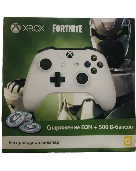 XBOX ONE S Controller беспроводной White + Fortnite TF5-00004