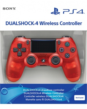 PS4 Dualshock 4 Wireless Controller V2 Crystal Red