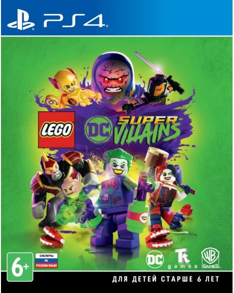 PS4 LEGO DC Super-Villains