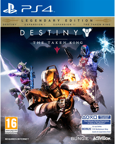 PS4 Destiny: The Taken King. Legendary Edition