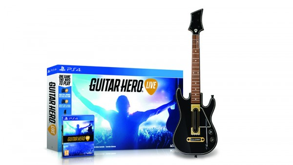 PS4 Guitar Hero LIVE Bundle (с гитарой)