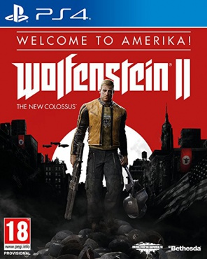 PS4 Wolfenstein II: The New Colossus. Welcome to Amerika!
