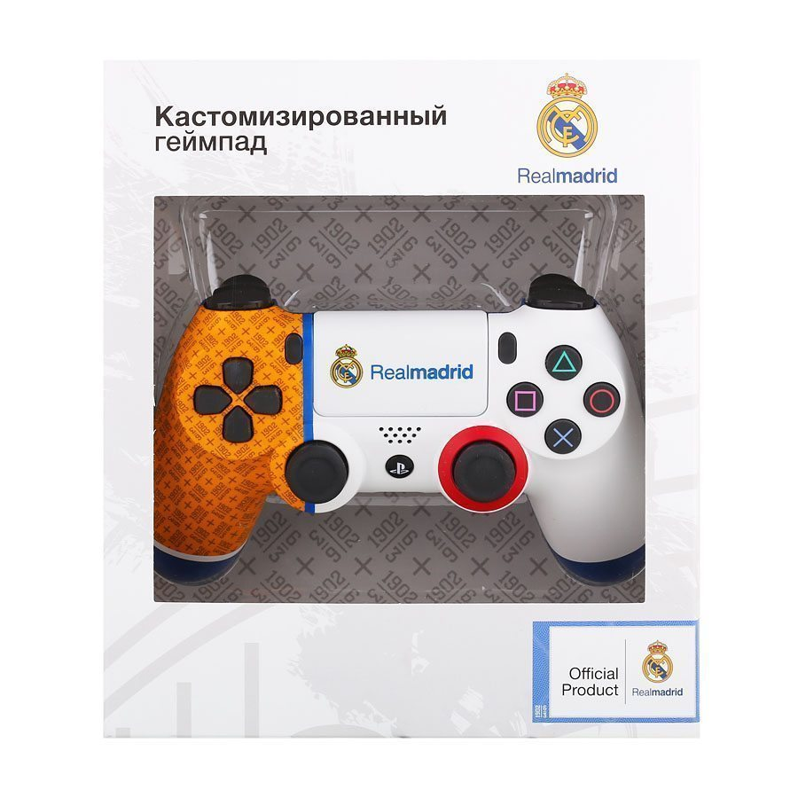 PS4 Dualshock 4 Wireless Controller Real Madrid 1902