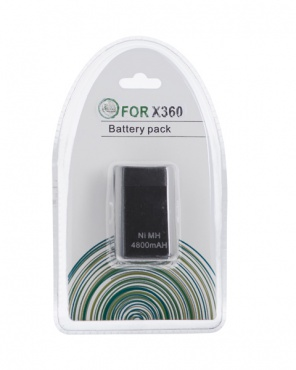 X-BOX 360 Battery pack 4800mAH Black